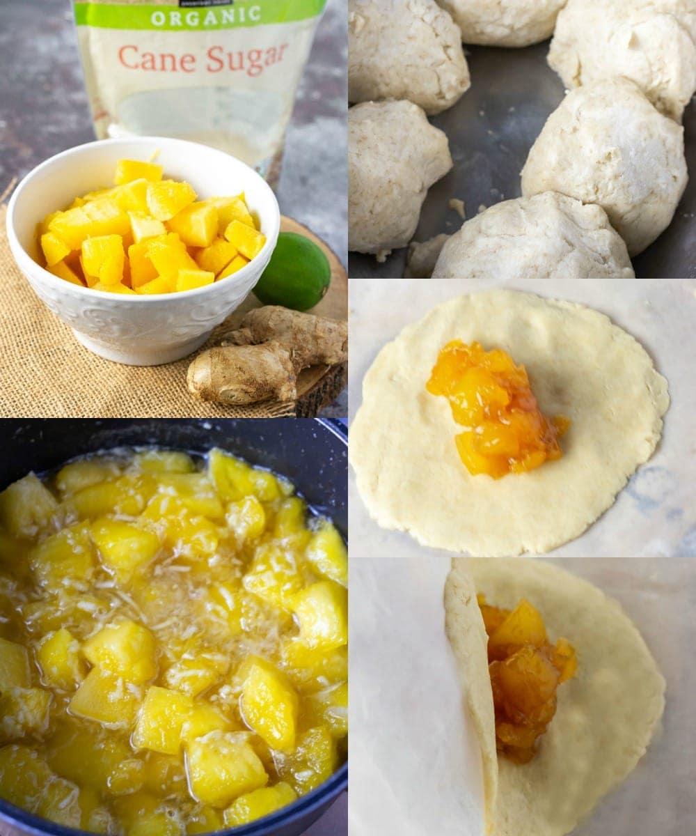 Pineapple tart step by step