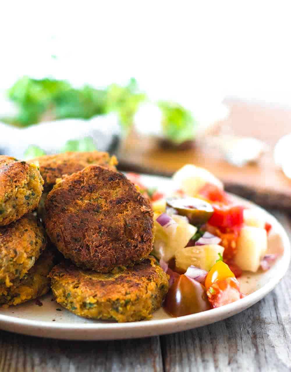 Healthy Vegan Gluten-Free Falafel