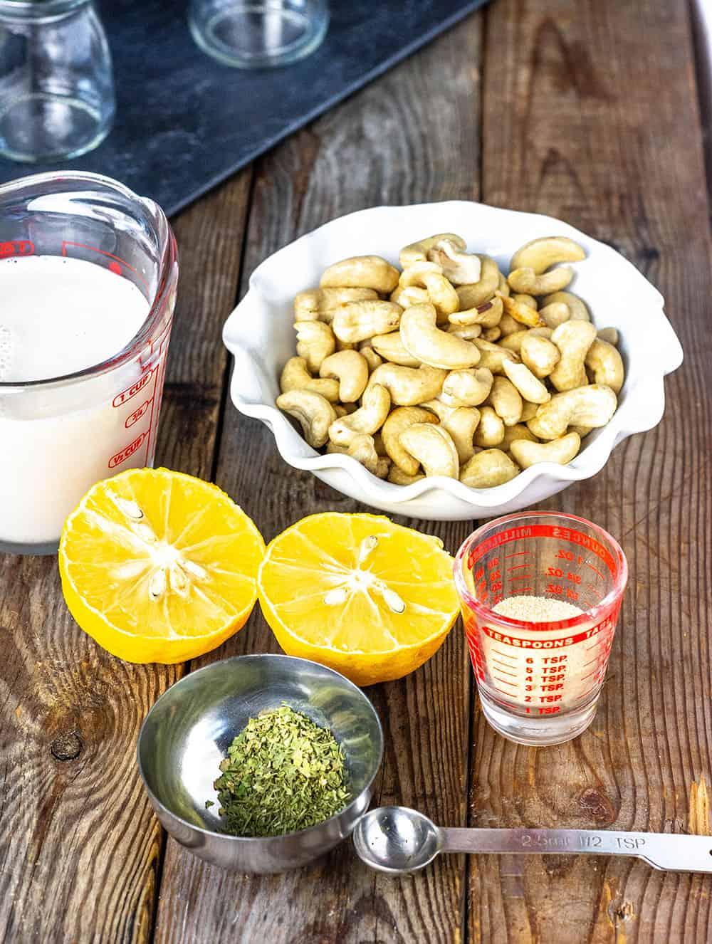 Vegan Ranch Dressing Recipe Ingredients