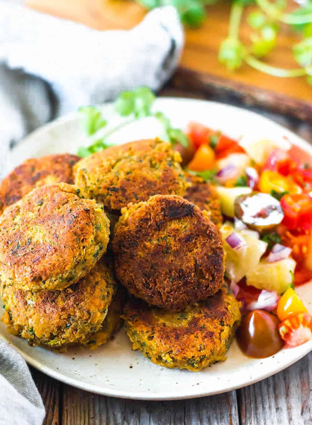 Vegan, Gluten-Free Falafel Recipe