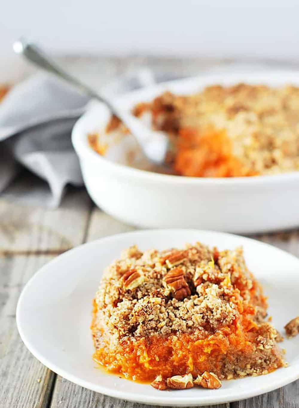 Vegan Sweet Potato Souffle Recipe