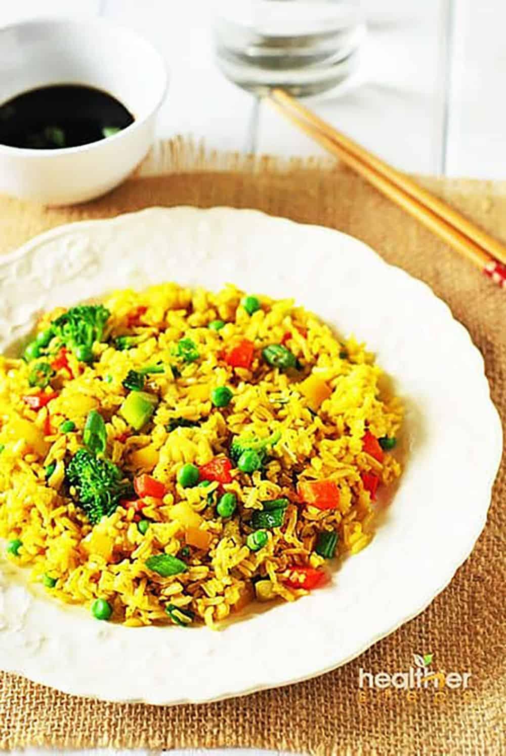 Tofu Fried Rice Recipe