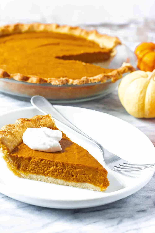 Pumpkin Pie Vegan Gluten-Free Pie Crust