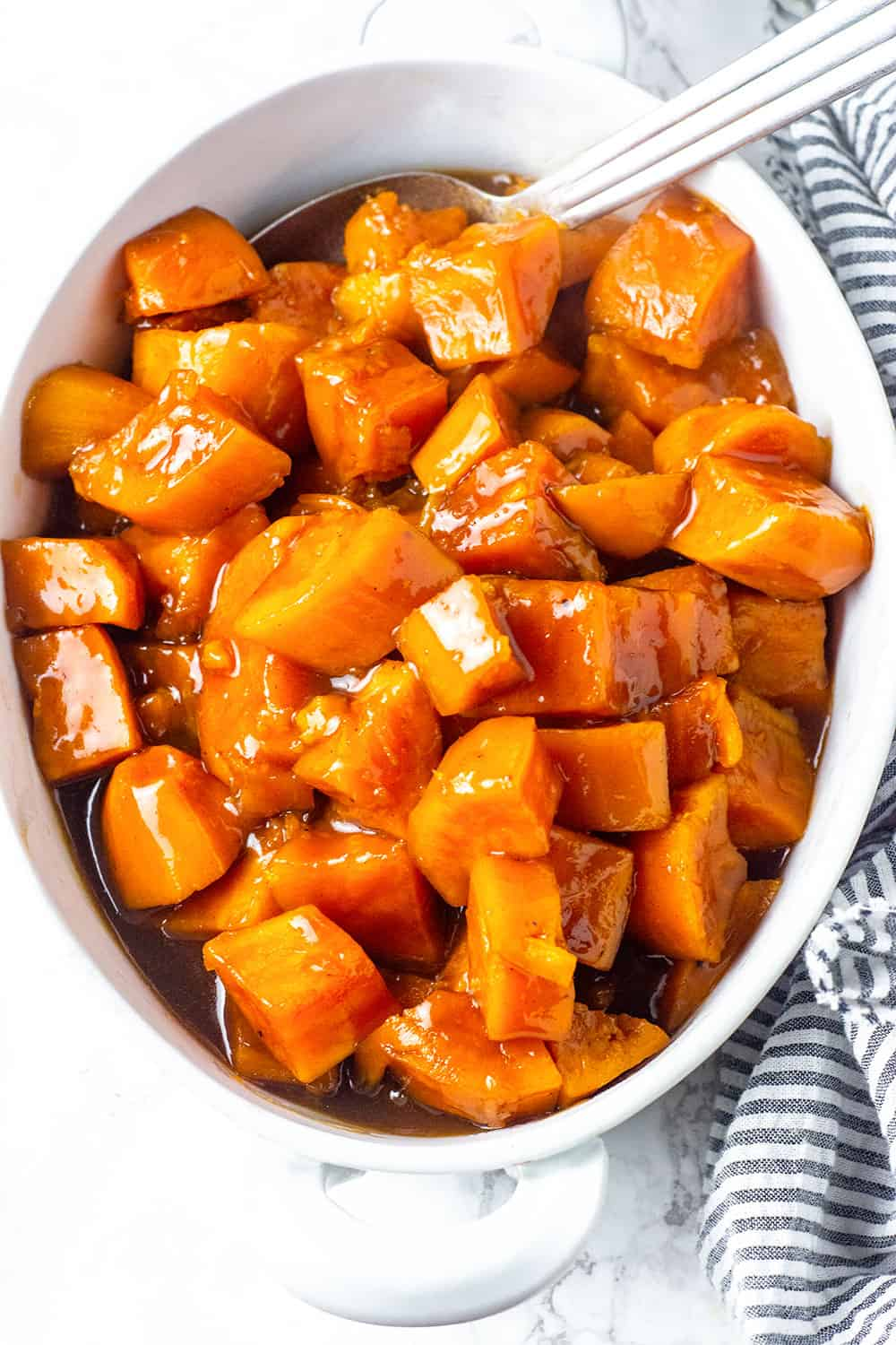 Easy Instant Pot Candied Yams