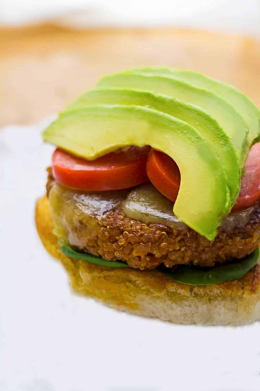 Vegan Quinoa Burger