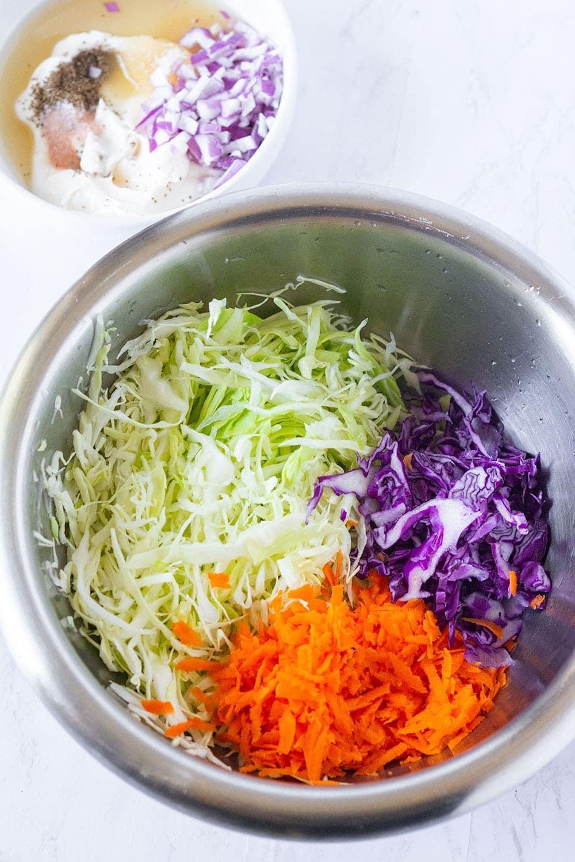 vegan coleslaw shredded ingredients