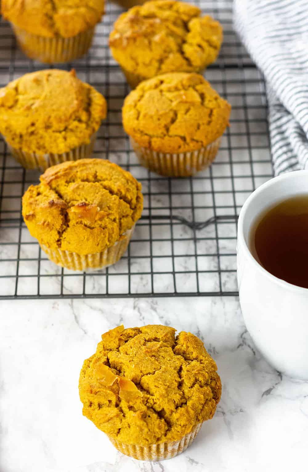 Healthy Vegan Pumpkin Muffins Recipe
