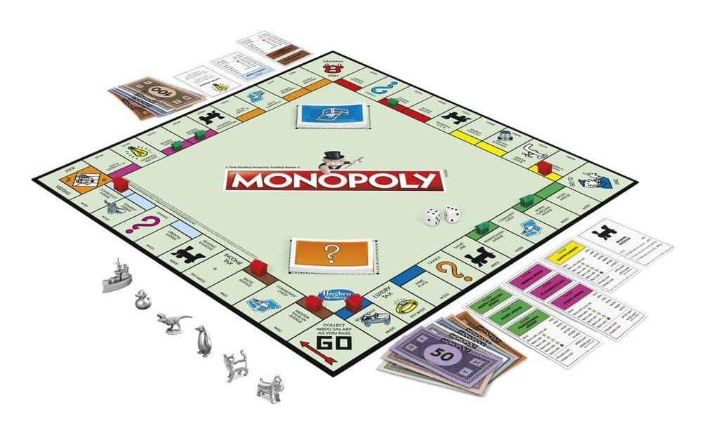 Monopoly - Best Family Board Games for Game Night