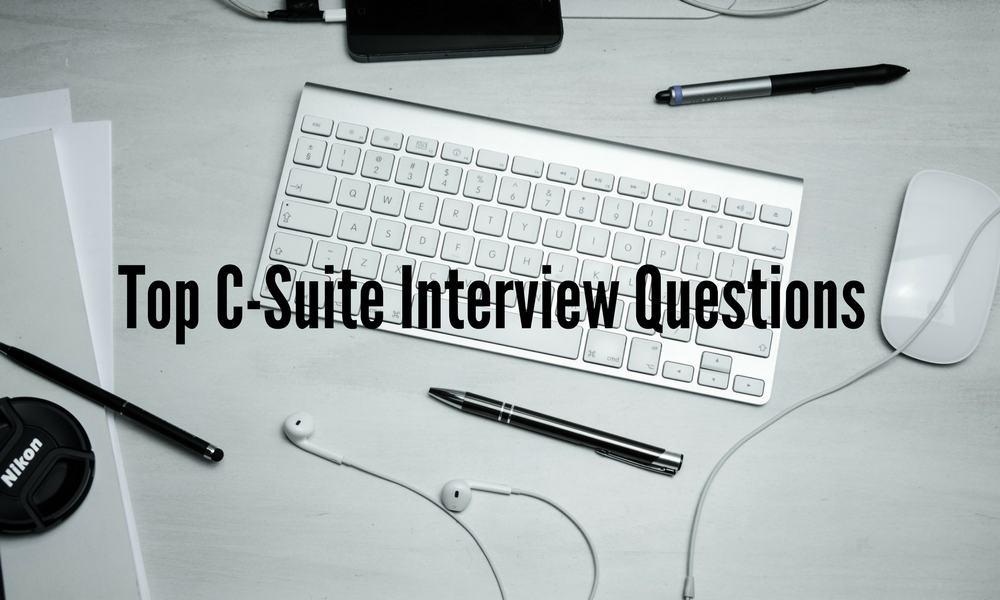 c-suite interview questions
