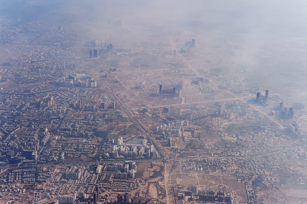 Загрязнение воздуха в Дели, Индия