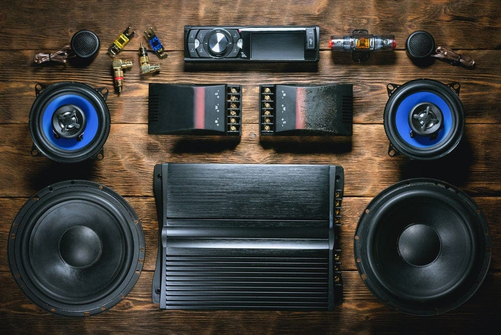 Component Speakers and Crossovers with Amp