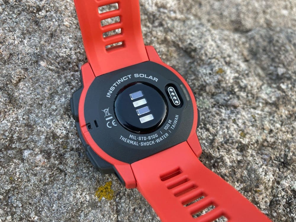 Задняя крышка часов Garmin Instinct Solar
