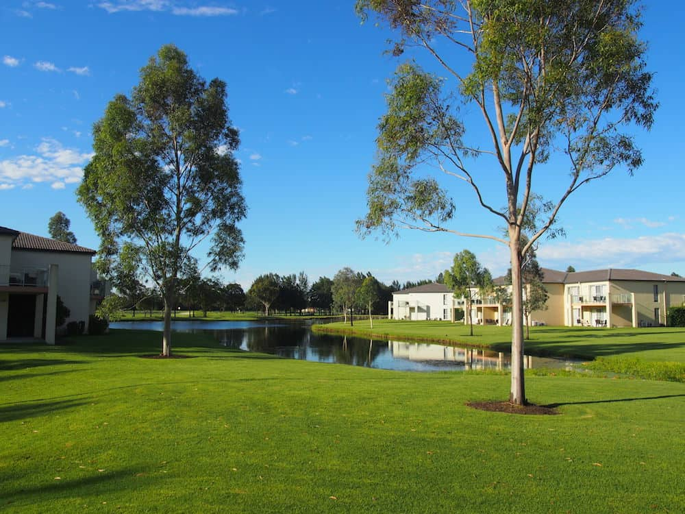 View from Villa Crowne Plaza Hunter Valley