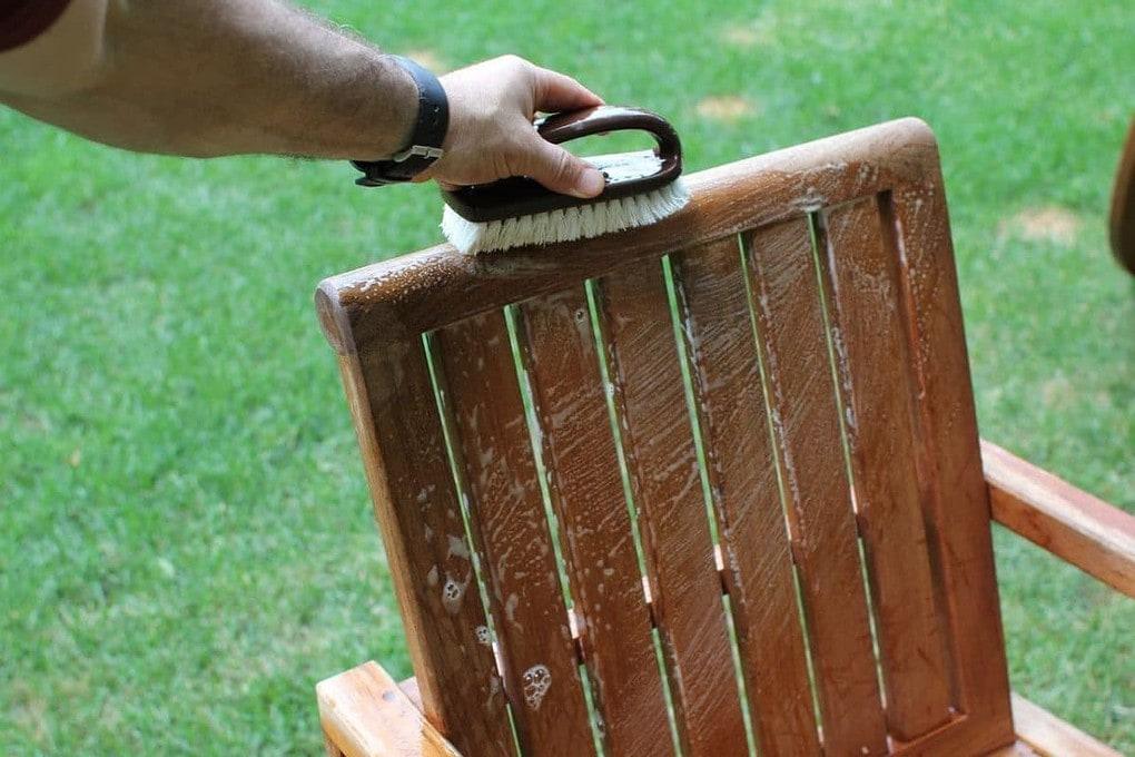 Chair Outdoor Teak Restoration