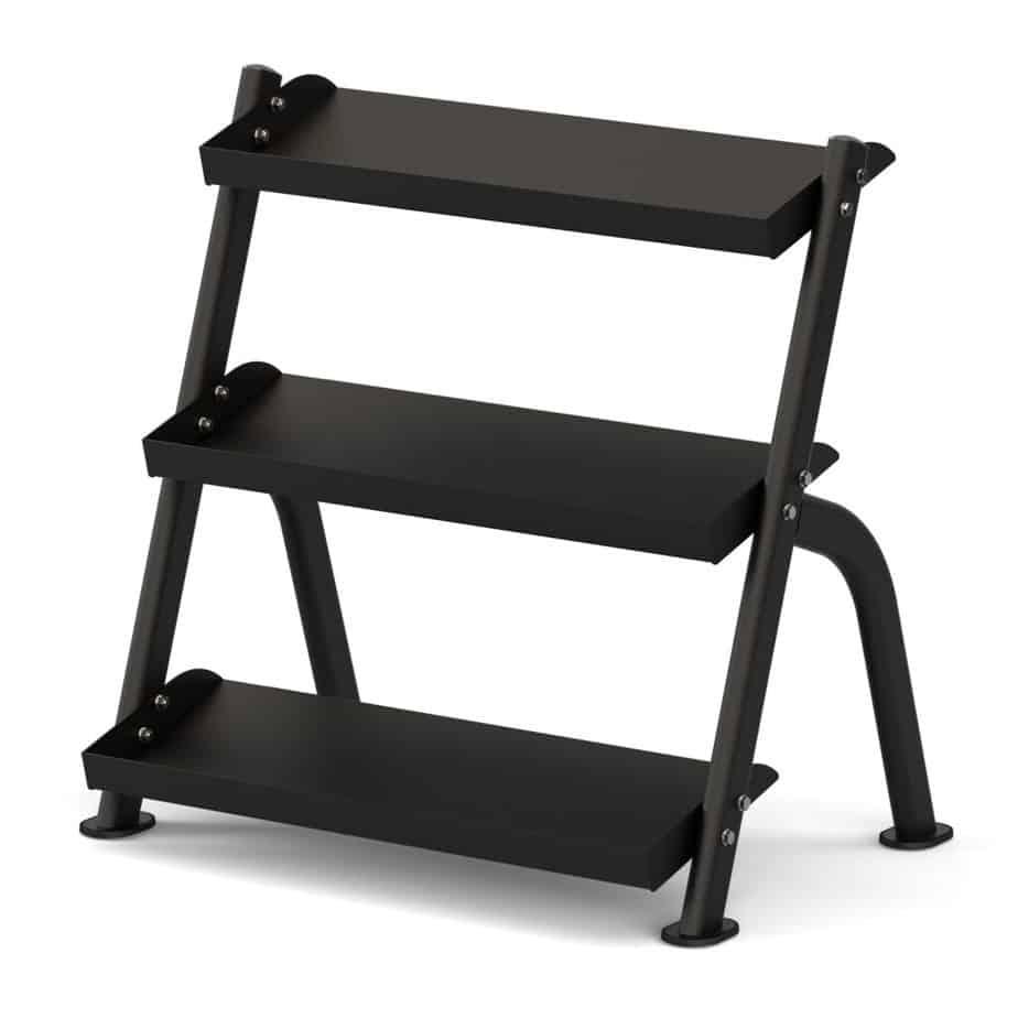 3-Tier Shelf DB Rack, Black