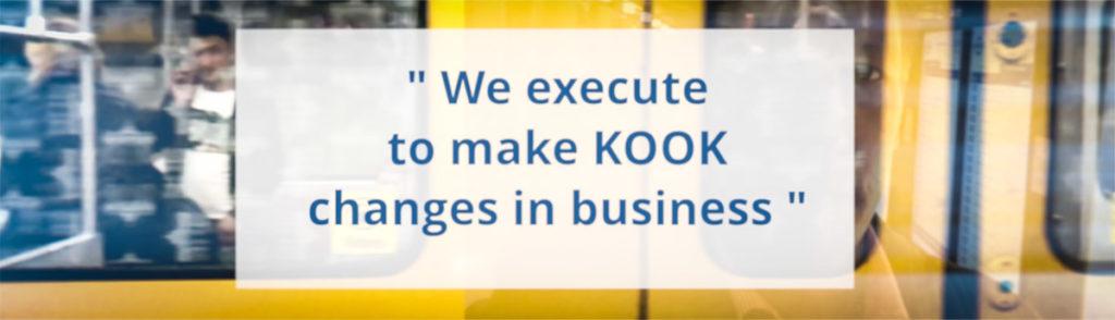 KOOK Lisensointiagentti - We execute to make KOOK changes in business.  How KOOK is that?