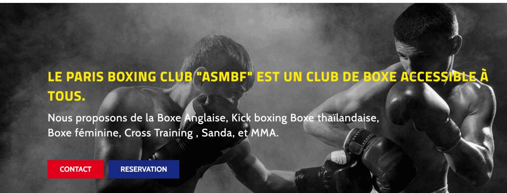 ASMBF club de box paris
