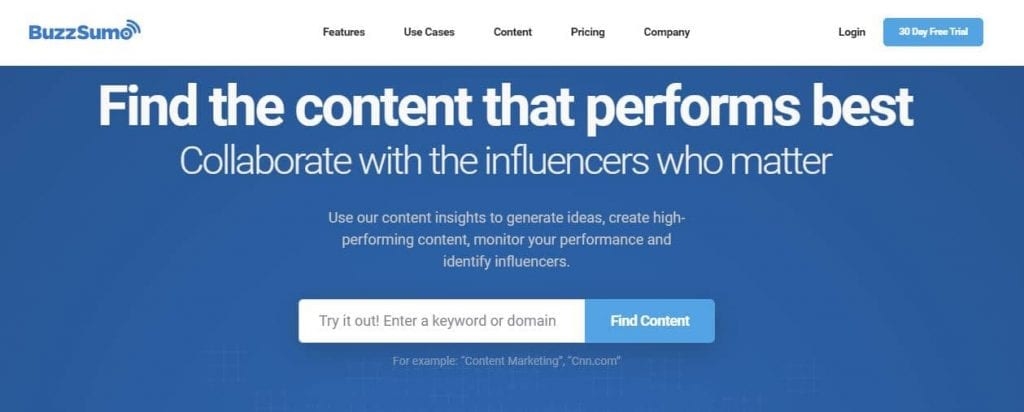 buzzsumo-content-research-tool