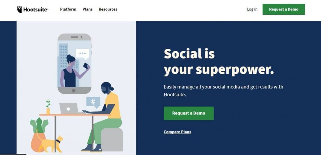hootsuite-SMM-tool