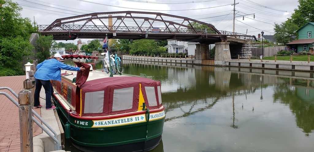 Complete list for packing for a trip on the Erie Canal