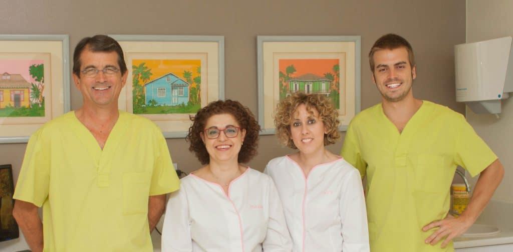 equipo clinica dental guadalfajara