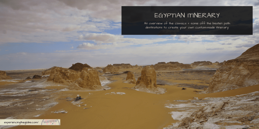No matter how long you'll spend in the country, here's all the info you need to plan what to see and do in Egypt, with an overview of the main destinations to get your own custom-made Egyptian itinerary, covering from the classics to the off the beaten path: the main cities, the oases, the Red Sea, and the Sinai Peninsula – Experiencing the Globe