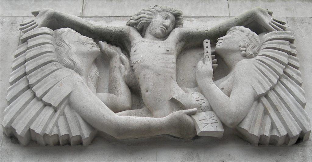Eric Gill, Ariel between Wisdom and Gaiety