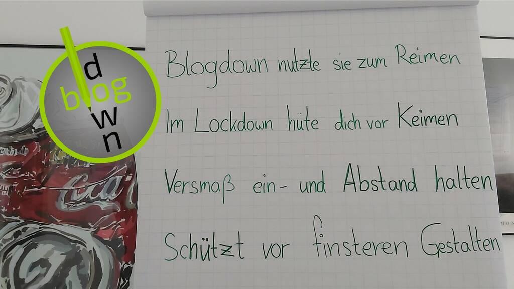 Blogdown-Lyrik der etwas anderen Art