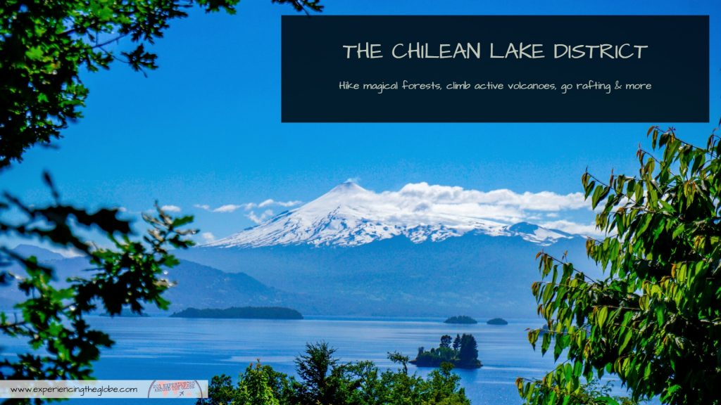 The Chilean Lake District is perfect for the adventurous souls: hike magical forest, climb the active Villarrica volcano, go rafting, and much more! #ClimbVillarrica #LakeDistrict #TravelsExperiences #Pucon #Chile #ChilieanLakeDistrict #Adventures #HuiloHuilo #Caburgua #Calafquen #Mountaineering #Rafting