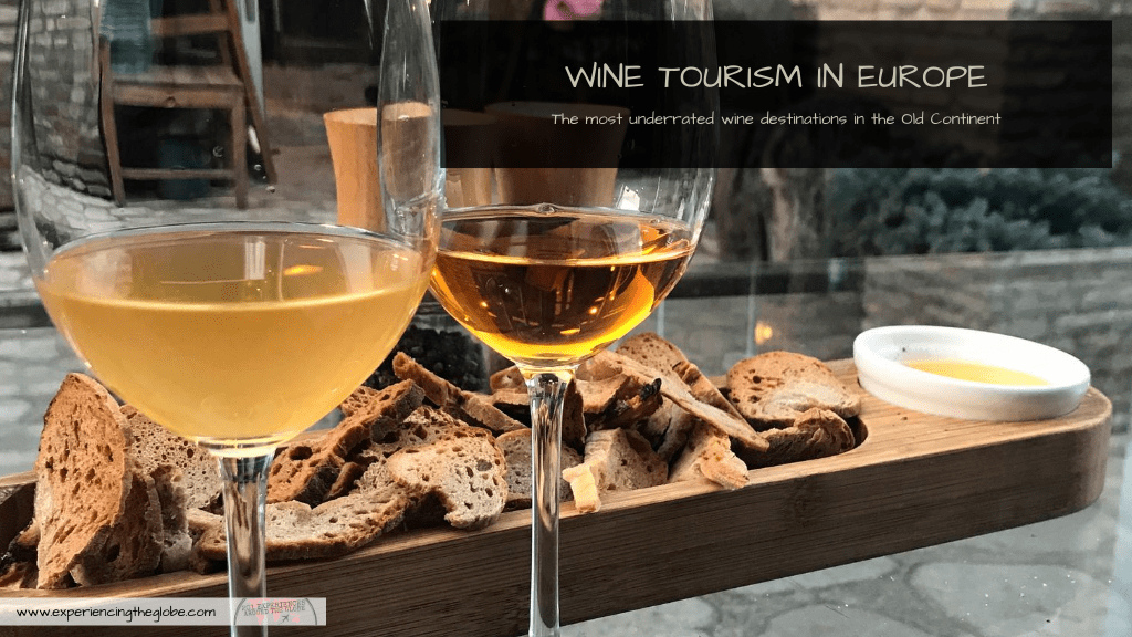 Discover the Old Continent's most underrated wine destinations, the next trends in wine tourism in Europe. Places like Georgia, Croatia, Moldova and even Denmark are a paradise for those looking for different varieties, technics and approaches to winemaking – Experiencing the Globe │ Wine Tourism in Europe │ Most Underrated Wine Destinations in Europe │ Wine from Croatia │ Wine from Georgia │ Wine from Denmark │ Wine from Armenia │ Wine from Czech Republic │ Wine from Serbia │ Wine from Moldova
