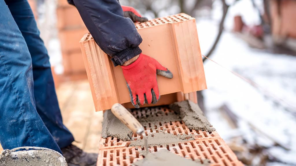 Bautrocknung Winter Trocknungsgeraete Rohbau - Bautrocknung im Winter