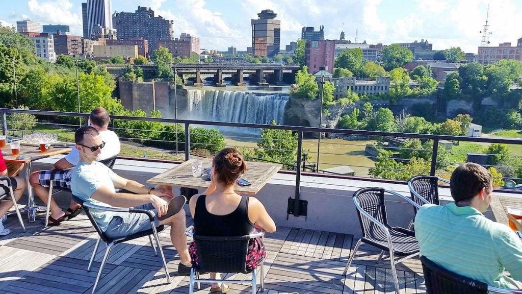 High Falls in Rochester New York