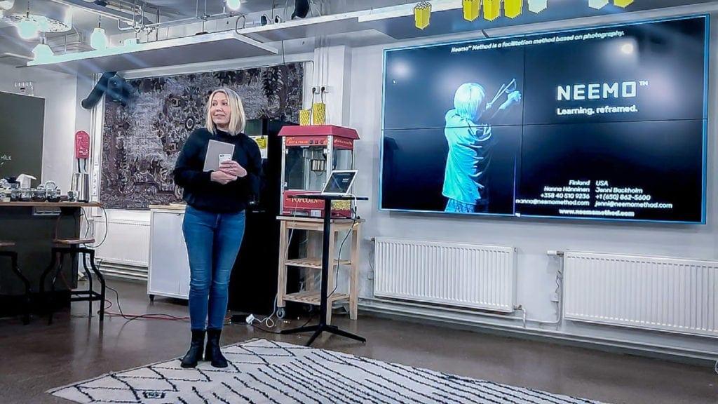 Nanna Hänninen on Neemo Methodin perustaja ja Master Coach . Neemo Method Työpaja tiimille kasvattaa tiimin resilienssiä.