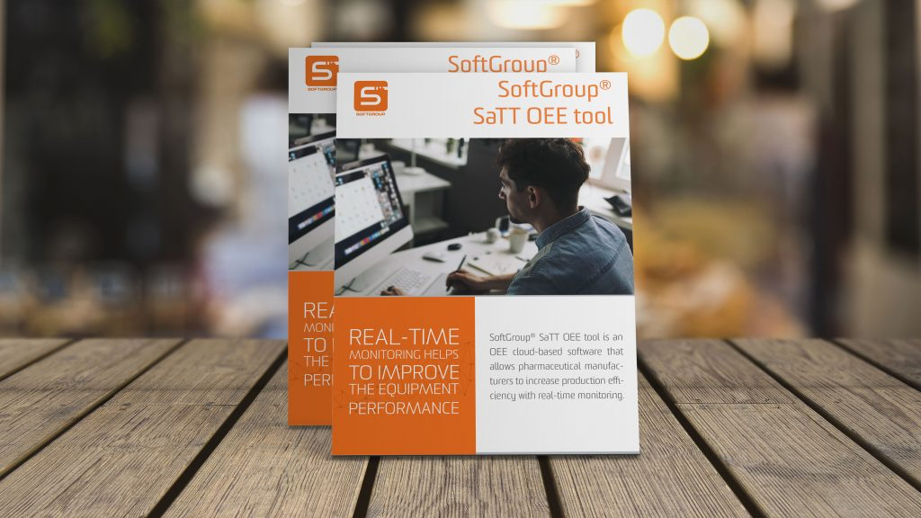 softgroup oee reporting brochure for vendor-neutral solution