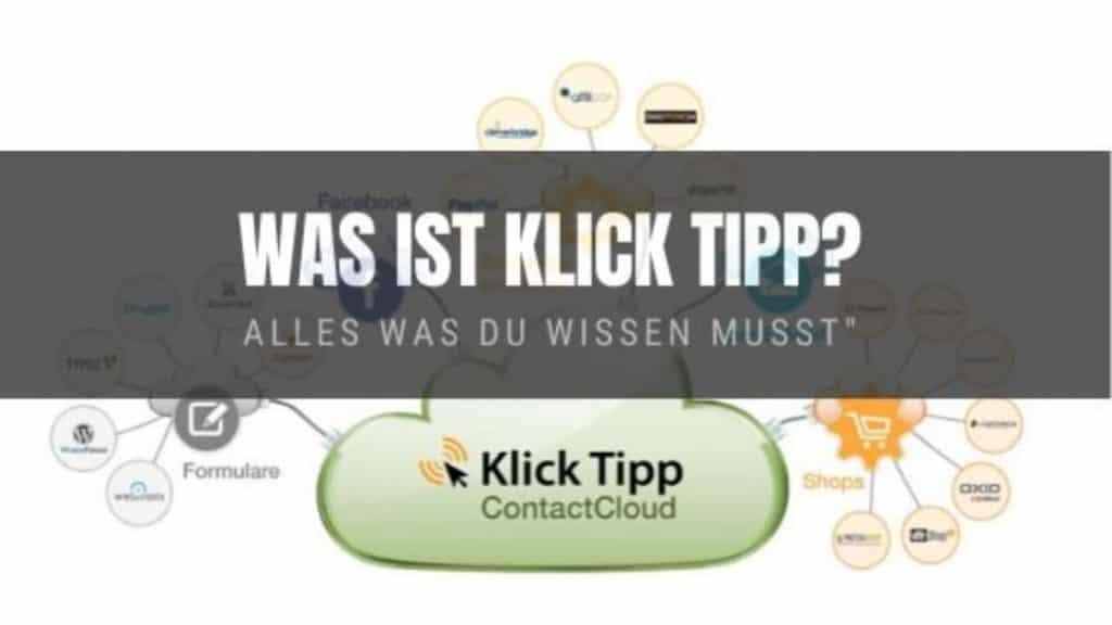 Was ist Klick Tipp blog banner
