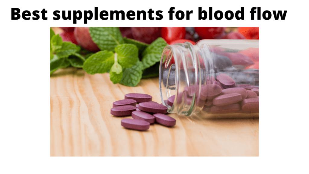Best supplements for blood flow image