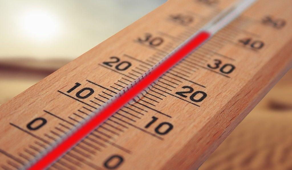 illustration des températures adaptées à une maquette