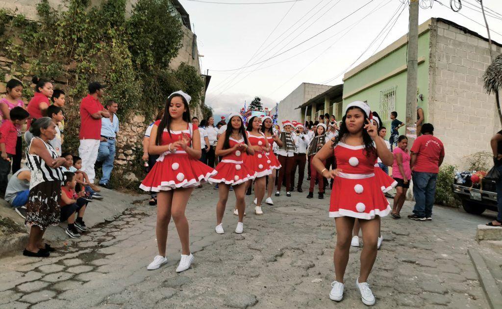 Desfile de Navidad San Agustín Acasaguastlán 2019