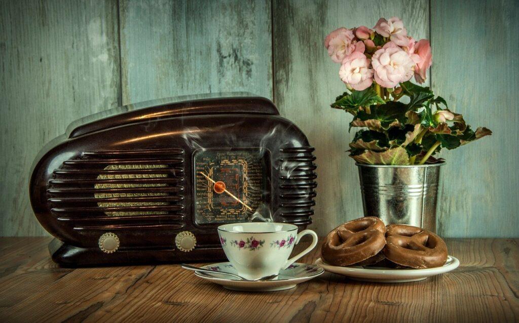 retro, radio, old