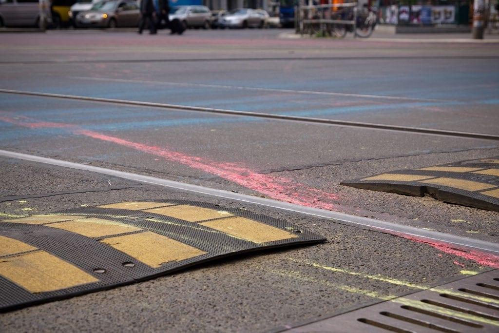 Farbsplash Rosenthaler Platz, Flickr: by Urbanartcore.eu