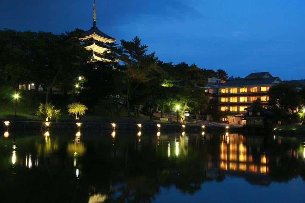Sarusawaike Yoshidaya Nara Japan