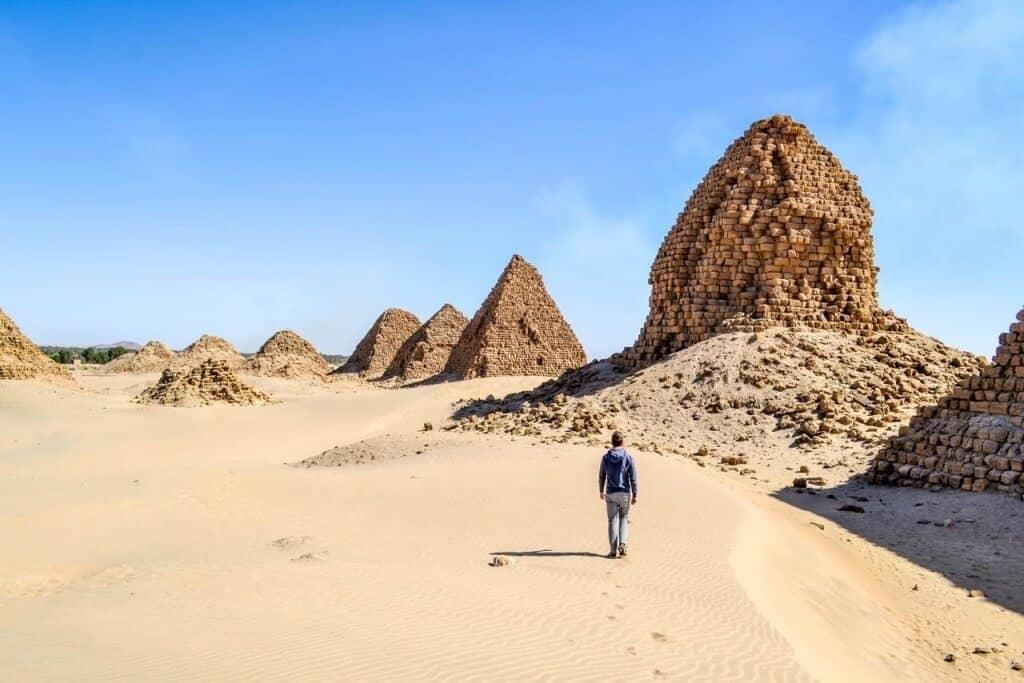 Pyramids of Sudan, Africa