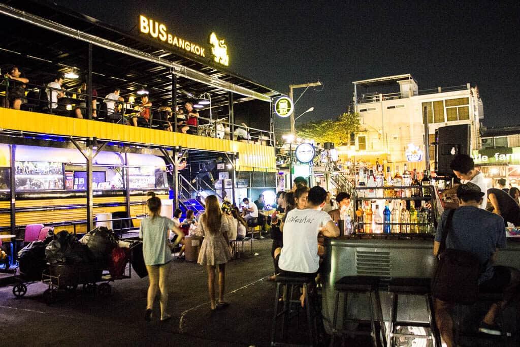 Rot Fai Market Bangkok Thailand