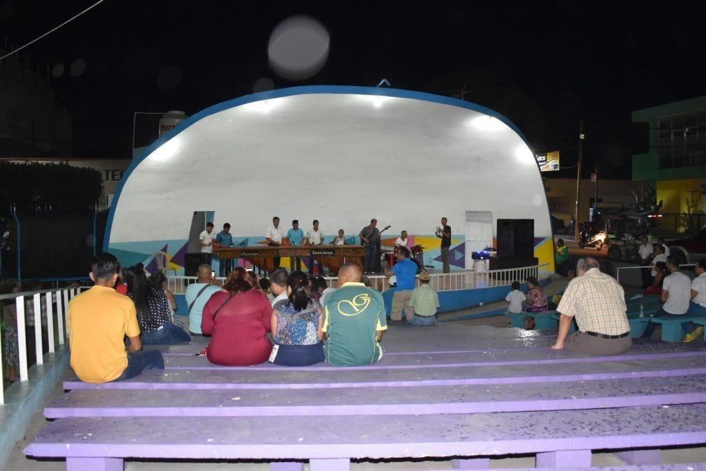 Auditorio al aire libre de Guastatoya