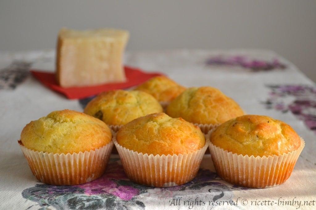 Muffin al parmigiano bimby