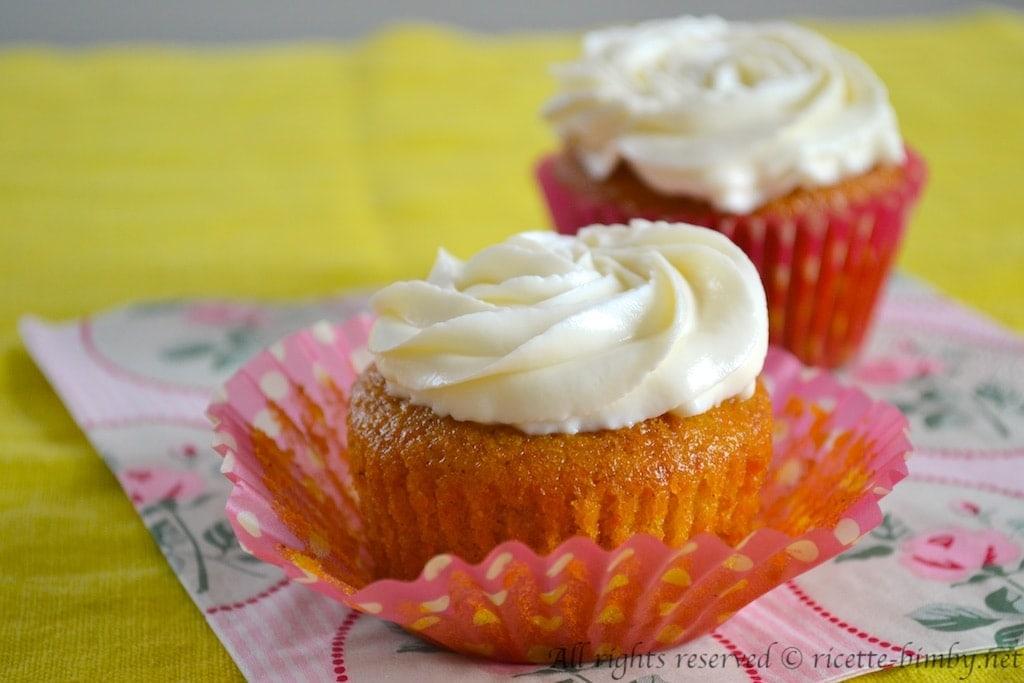 Cupcake alla carota Bimby