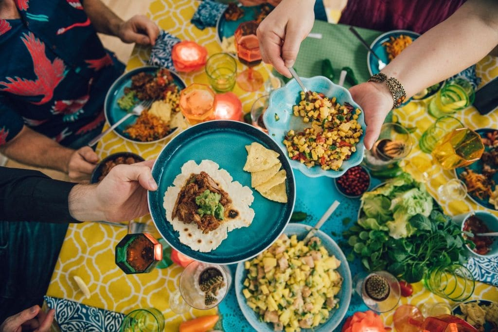 how to stay safe when eating mexican food