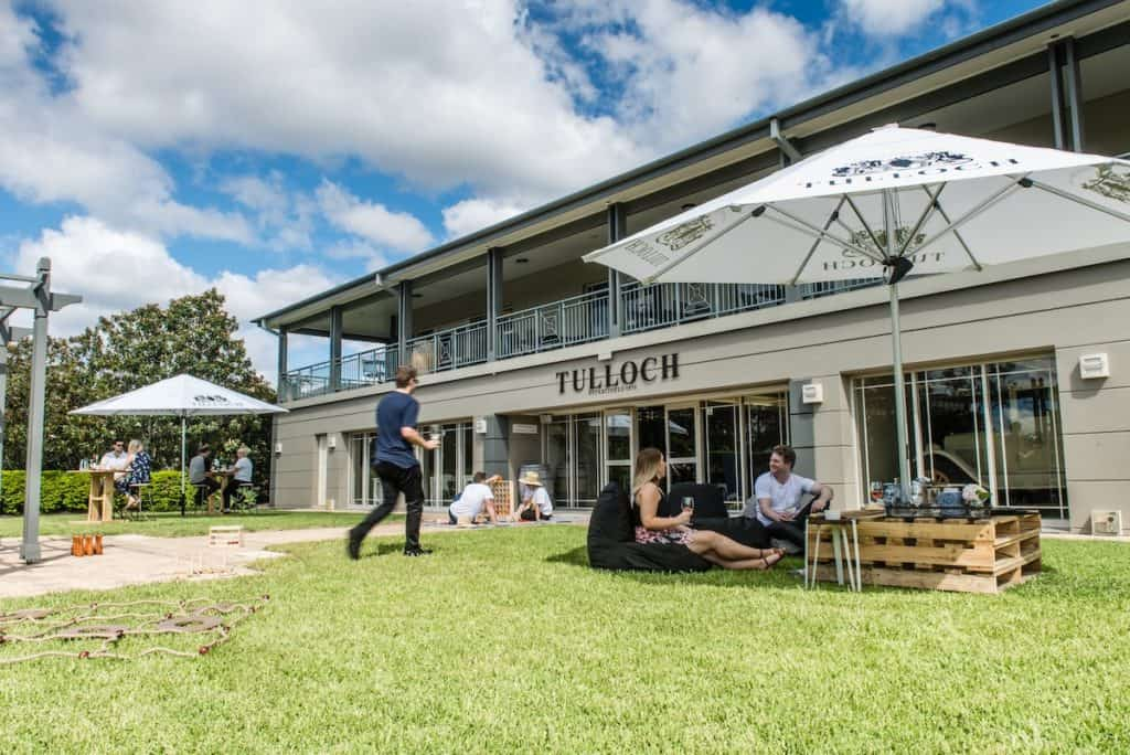 Tulloch Wines lawn games