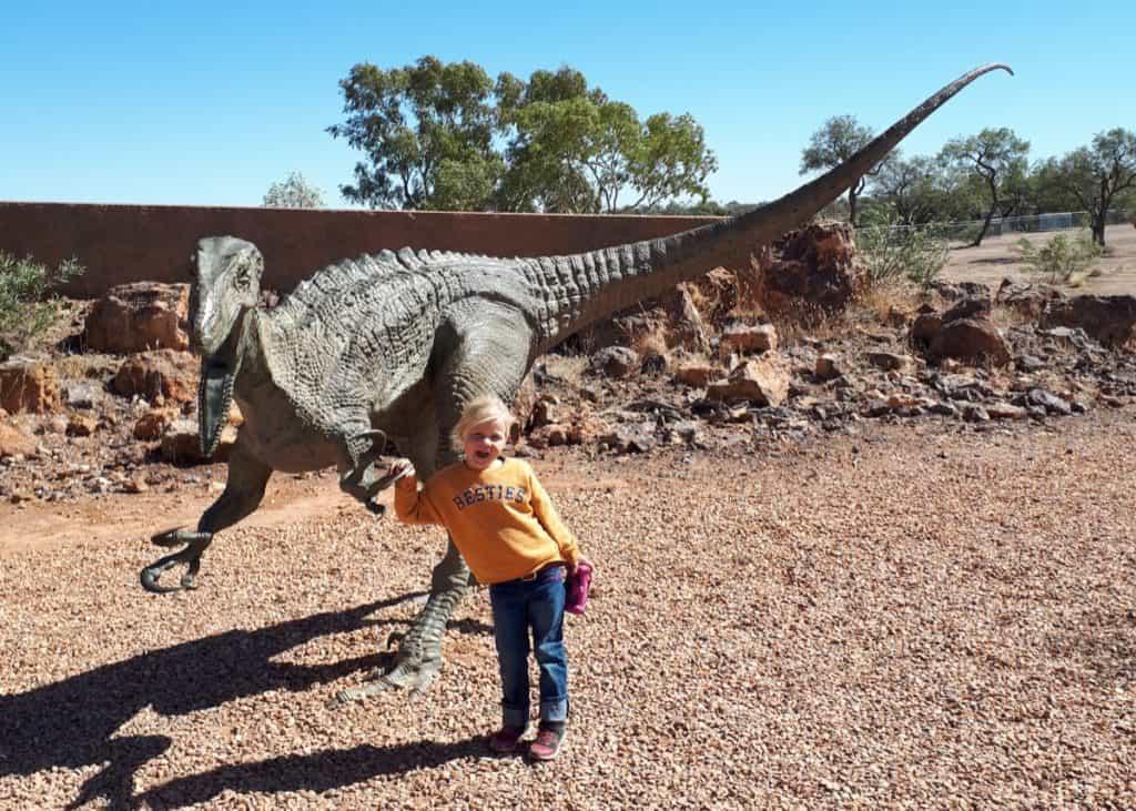 Dinosaur trail winton