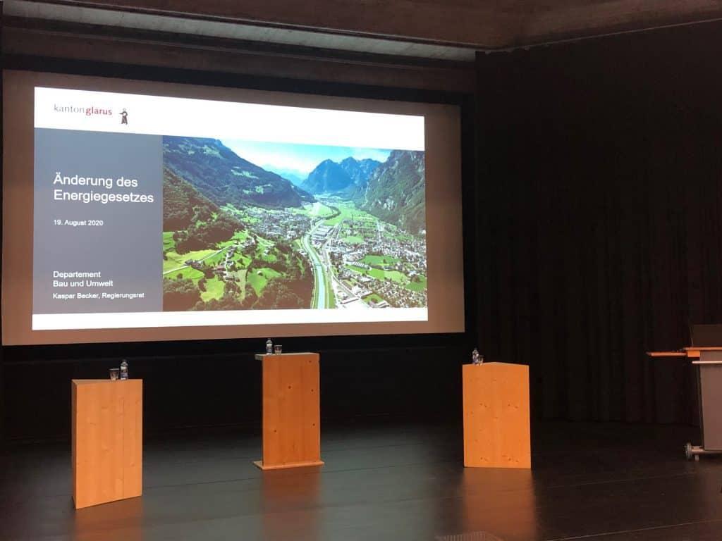 Energiegesetz im Kanton Glarus